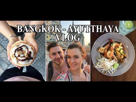 ParaKulinarne Tripy: Bangkok, Ayutthaya - Tajlandia // FOOD Travel VLOG