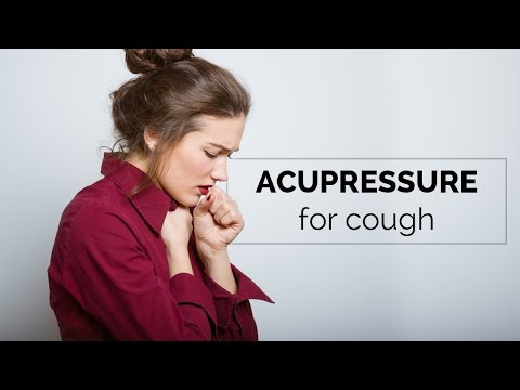 Acupressure for cough