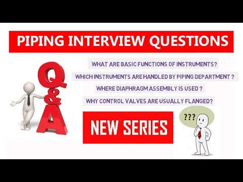 Piping Interview Questions & Answers   Piping Official