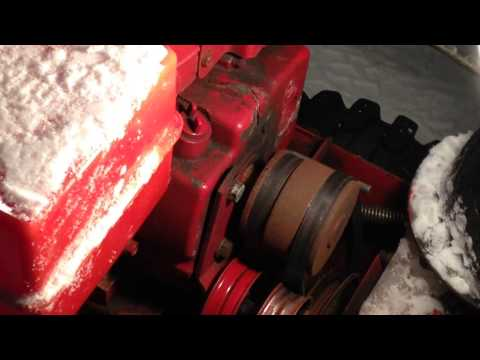 How To Tighten a Loose Snow Blower Belt - Toro - Tutorial