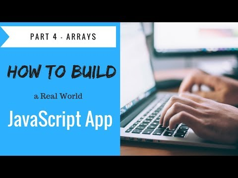 How to Build a JavaScript Application Project - Tutorial Part 4