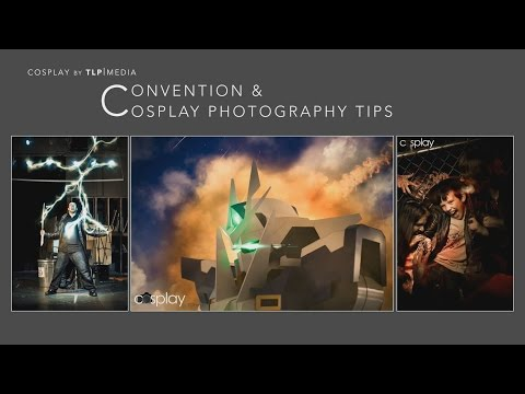Convention and Cosplay Photography Tips presentation from Fandom Con 2014