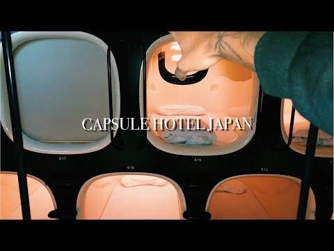TOKYO CAPSULE HOTEL TOUR!!!