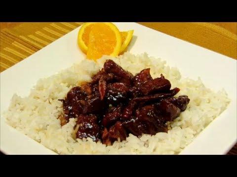 How To Make Orange Pork - Easy Chinese Food Recipe