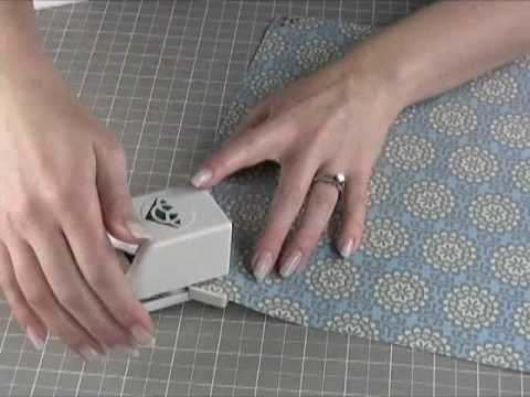 Using a Continuous Corner and Border Punch System