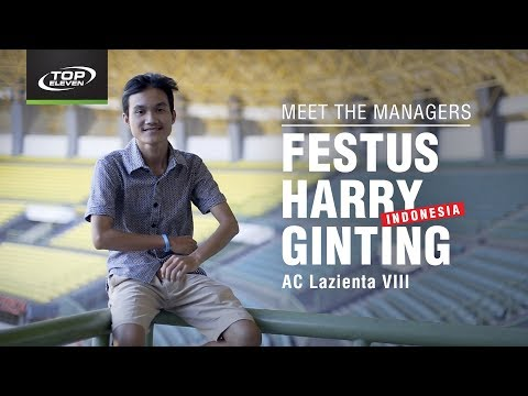 Meet The Managers #10 | Festus from Indonesia | Top Eleven