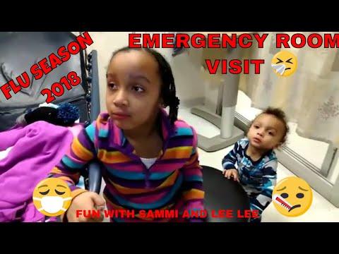 KIDS SICK WITH FLU 2018: TAKING A BREAK FROM VLOGGING