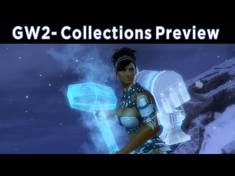New Collections Feature Preview - Guild Wars 2