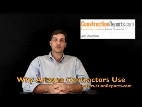 ConstructionReports.com Why Arizona Contractors Chose their Service