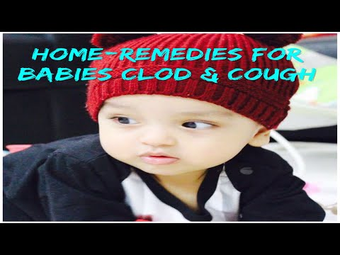 Cold & Cough Home-remedies for Babies in Hindi / Natural remedies for Cold & Cough