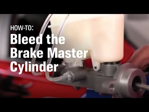 How to Bleed the Master Cylinder and Brake System - AutoZone Car Care