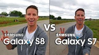 Samsung Galaxy S8 Vs S7 Camera Test Comparison! (4k)