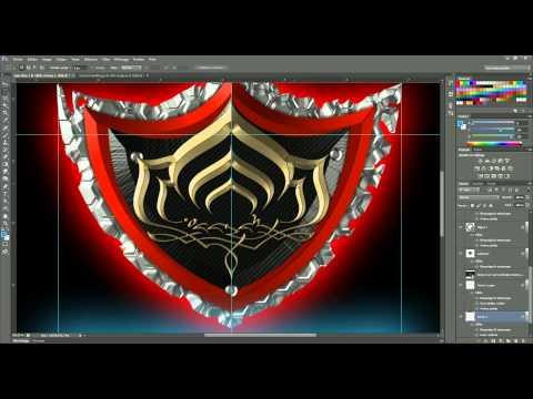Warframe: création libre d'un logo sous photoshop