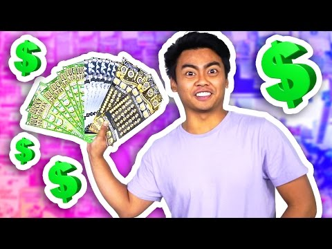 WILL $400 WORTH OF LOTTERY TICKETS WIN ANYTHING EXPERIMENT?!