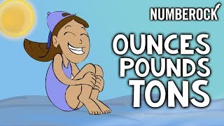 Ounces Oz Pounds Lbs And Tons Song Weights And Measurement For Kids M