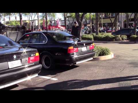 The BMW Twins - A Pair of Black E34 M5