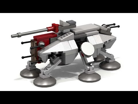 Lego Star Wars AT-TE (Micro) + INSTRUCTIONS