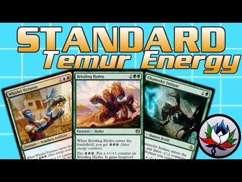 """MTG – $50 """"Budget"""" Temur Energy Competitive Standard Deck Tech for Magic: The Gathering!"""