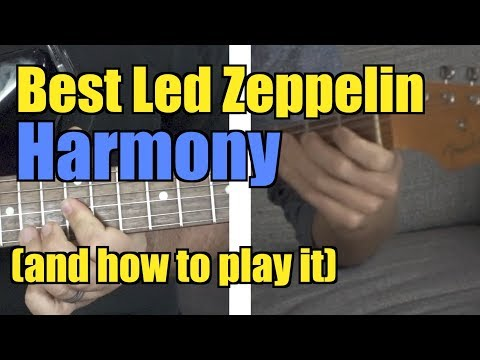 Best Zeppelin Guitar Harmony (and How to Play It)