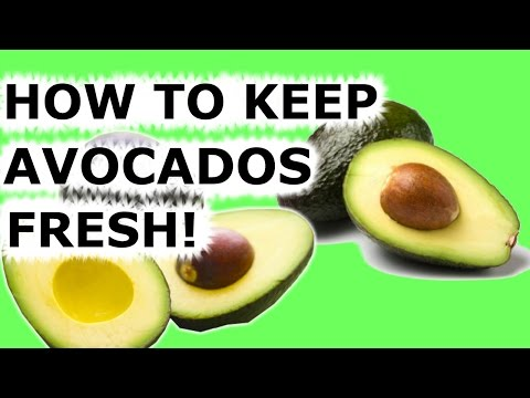 HOW TO KEEP AVOCADOS FROM TURNING BROWN EASY TIP!