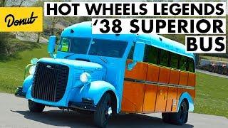 Baby Blue '38 Dodge Superior Bus Wins at the Kansas City Hot Wheels' Legends Tour | Donut Media
