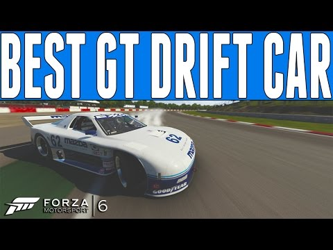 Forza 6 Best GT Drift Car : #62 Mazda Motorsport RX-7 Drift Build - Mobil 1 DLC