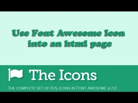 How Can You Use Font Awesome Icons Into your Web Page