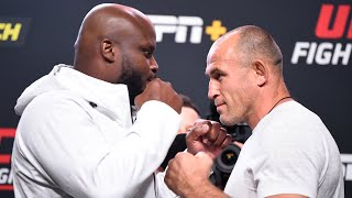 UFC Vegas 6: Weigh-in Faceoffs