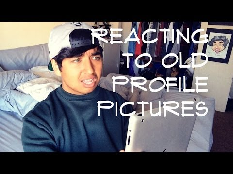 REACTING TO OLD PROFILE PICTURES