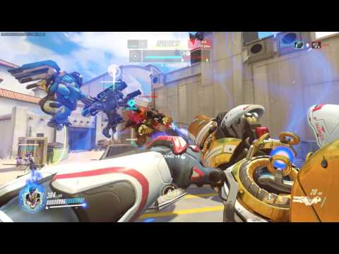 Overwatch Hollywood Comp Game