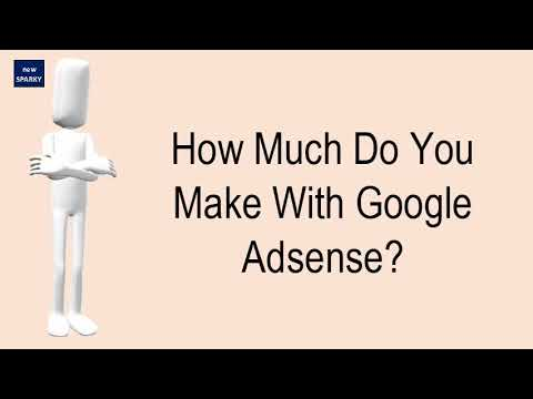 How Much Do You Make With Google Adsense?