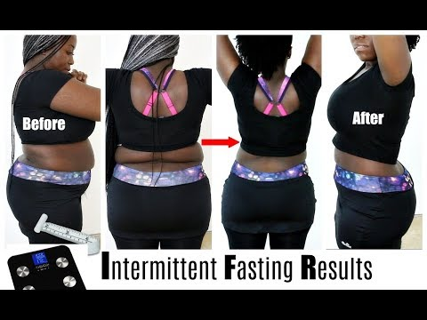I Lost 30 Pounds On Intermittent Fasting Before and After 3 Month Result Weight Loss Transformation