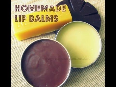 Homemade lip balm-all natural recipe