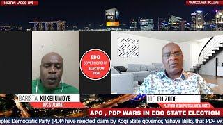 EDO ELECTION: APC  VS PDP  PMI Political Arena interview Barista Kukei Umoye APC Stalwart.
