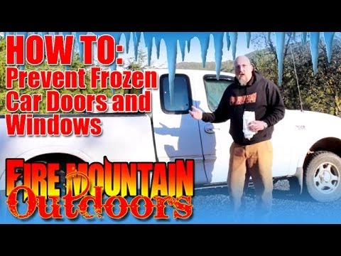 HOW TO: Preventing frozen car doors and windows