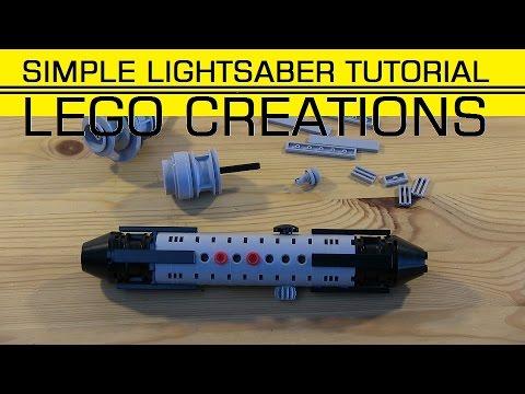 SIMPLE LEGO LIGHTSABER (tutorial)