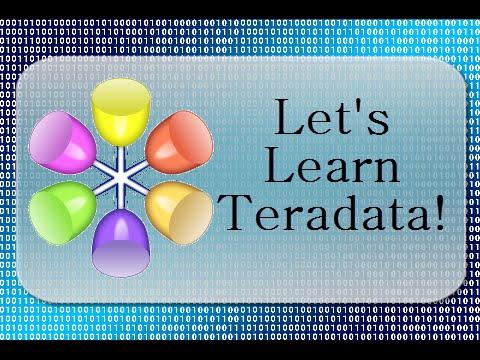 Let's Learn Teradata Lesson 3: Unique Primary Index