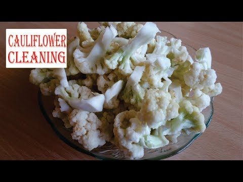 How To Cut and Clean Cauliflower Before Cooking