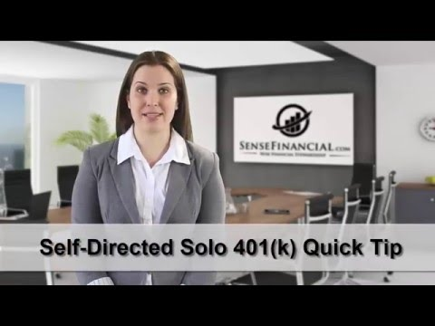 Setting up a Solo 401k Brokerage Account