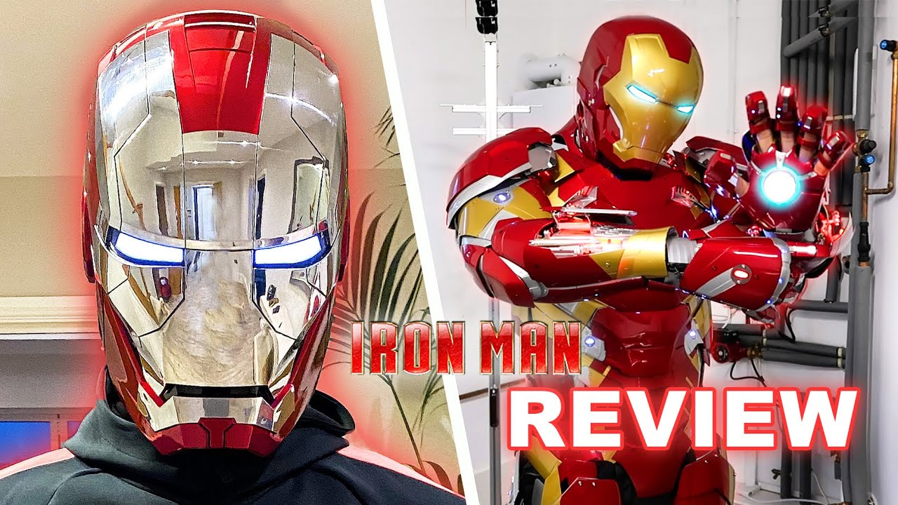 INSANE $10,000 REAL LIFE IRONMAN COLLECTION UNBOXING & REVIEW 🤯🔥