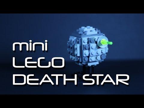mini LEGO Death Star Tutorial - How to Make a LEGO ball