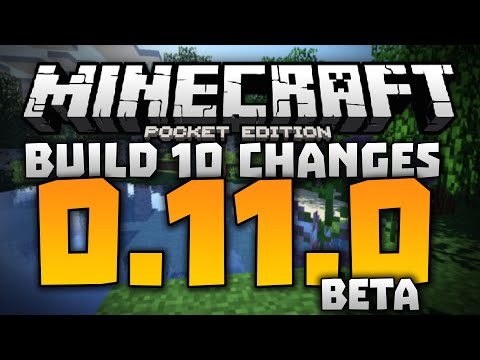 SKIN PACKS IN MCPE!!! - 0.11.0 Alpha Build 10 Review - Minecraft PE (Pocket Edition) 0.11.0 Beta