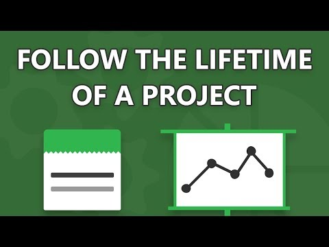 Follow the lifetime of a project