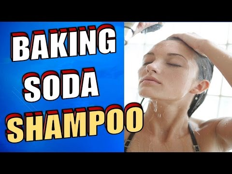 DIY BAKING SODA SHAMPOO: It Will Make Your HAIR GROW Faster & Treat HAIR LOSS