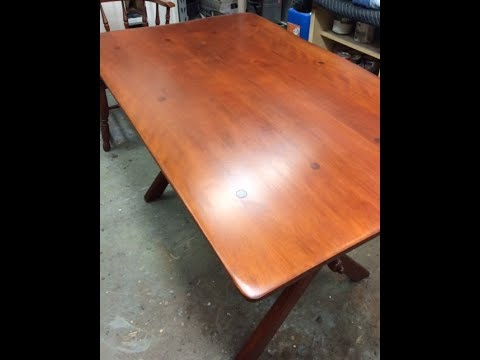 Restoring a Cushman Colonial Table