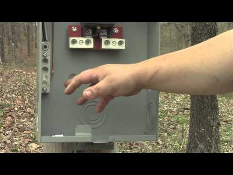 Hooking Up Temporary Outlets To An Electric Meter