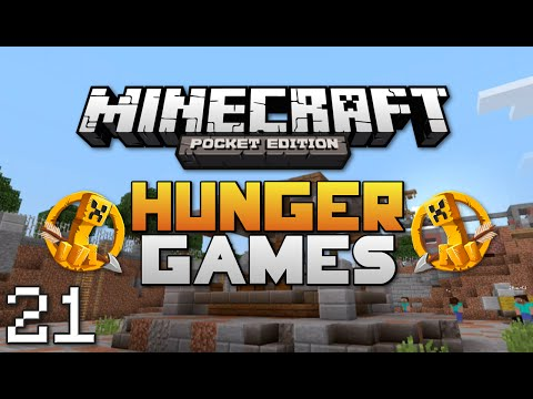 Minecraft: Pocket Edition Hunger Games #21   Comment Challenges!