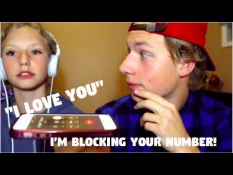 PRANK CALLING MY EX!!! *blocked number* | Tanner Stewart