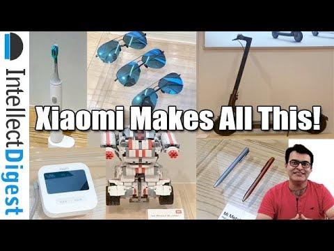 Did You Know Xiaomi Also Makes Toothbrush, Robots, Pens, Sunglasses & More- Mi Home Delhi Tour