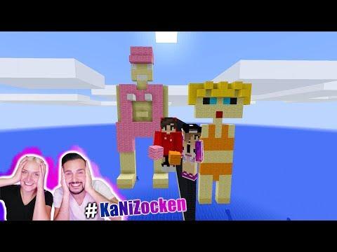 NINAS BIKINI FIGUR vs KAANS BADEANZUG FIGUR! Wer macht die bessere Figur? Minecraft Build Battle